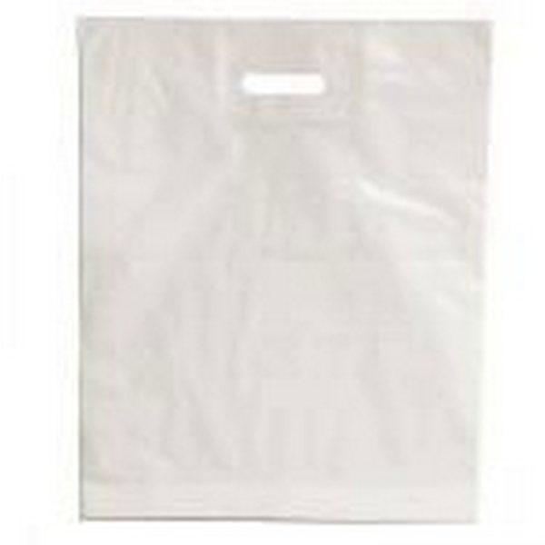 Пакет с вырубной ручкой «Белый» 30*40см 50/1000