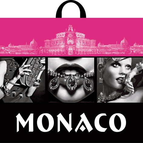 Пакет с петлевой ручкой «Монако» 60*50см 25/250