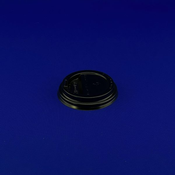 Крышка для бумажного стакана KF 200 d 80 черная 50/1000