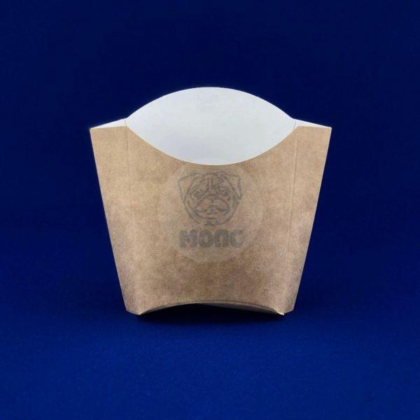 Пакет бумажный для картофеля фри 80гр 50/500