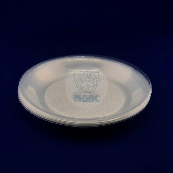 Набор тарелок десертных одноразовых прозрачных d 200 (10шт) 1/180