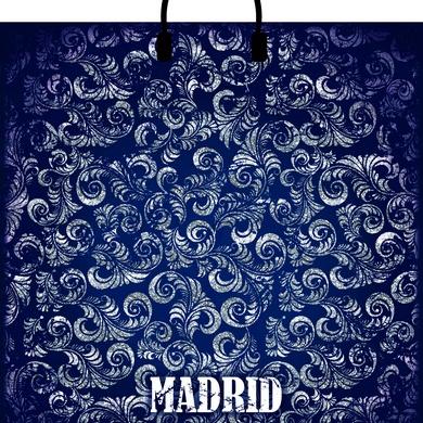 Пакет с пластиковой петлевой ручкой «Мадрид» 40*44см 10/100