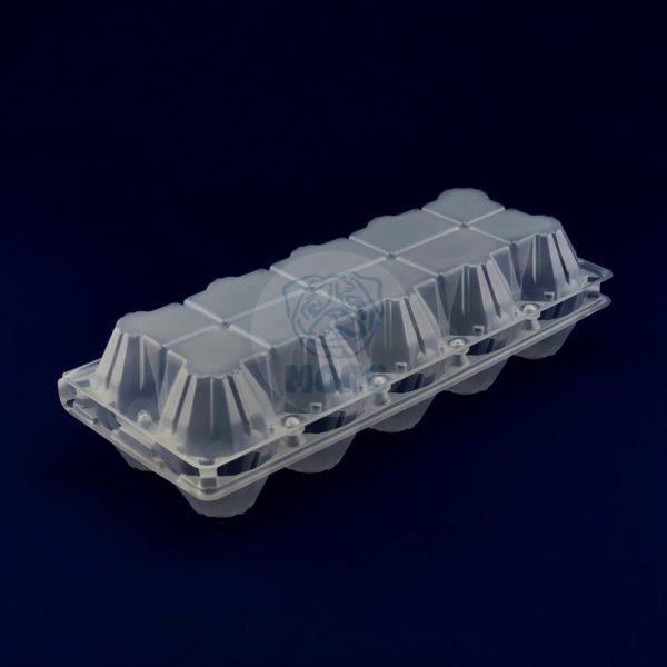 Контейнер пластиковый прозрачный для яиц РП-10 1/280