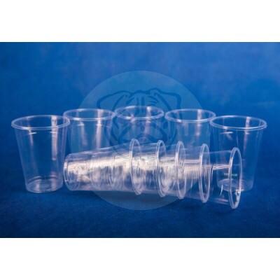 Набор стаканов одноразовых 0,2л прозрачных (10шт) 1/336