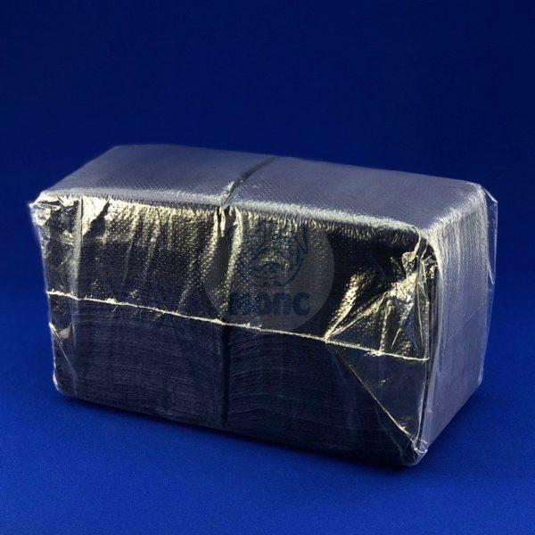 Салфетки бумажные однослойные синие 24*24см 300л 1/20