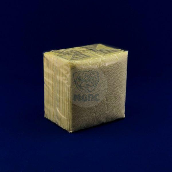 Салфетки бумажные однослойные «Лимон» 24*24см 100л 1/40