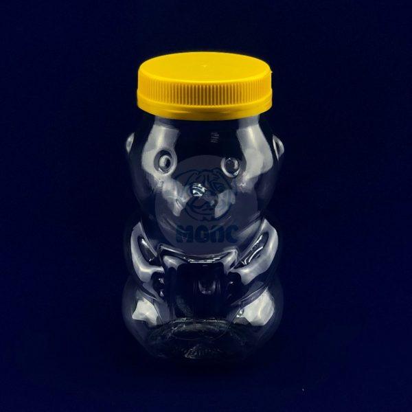 Банка под мед «Медвежонок» 0,5л 1/100