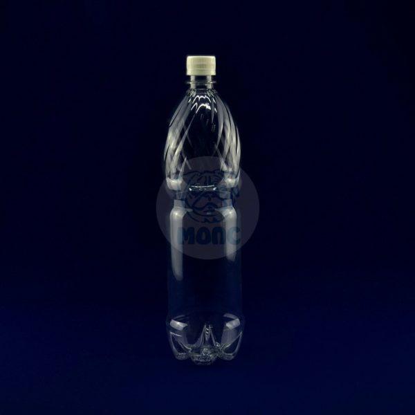 Бутылка пластиковая ПЭТ 1,5л прозрачная 1/83