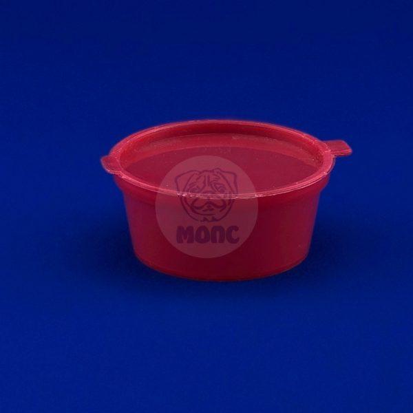 крепкий соусник 0,05 Красный 50/1200 БК
