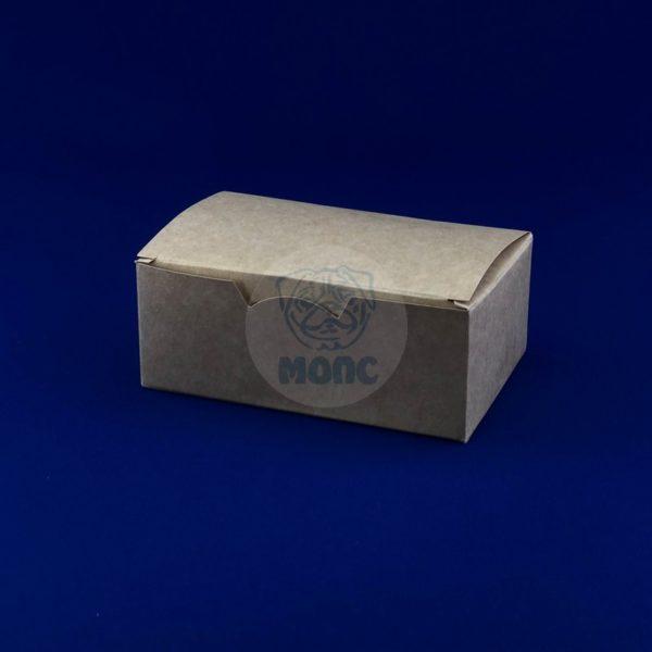 Коробка картонная под наггетсы 115*75*45мм крафт 25/400