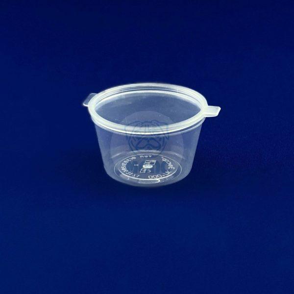 Соусник пластиковый с неразъемной крышкой 30 мл одноразовый 170/3660