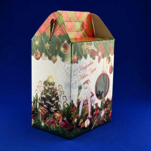 Картонная упаковка для новогодних подарков «С Новым Годом» 2 кг