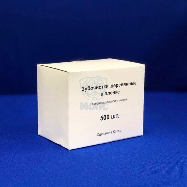 Зубочистки деревянные в индивидуальной упаковке ( 1000 шт ) 1/50