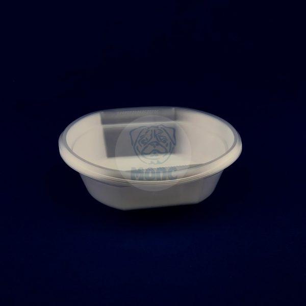 Набор тарелок глубоких одноразовых 0,5л (10шт) 1/200