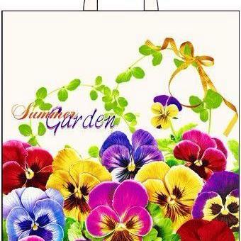 Пакет с петлевой ручкой «Летний сад» 38*42см 25/500