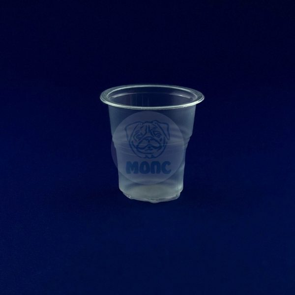 Стопка одноразовая 50мл пластиковая прозрачная 100/8000