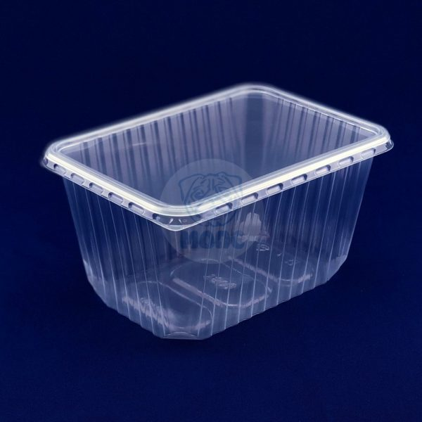 контейнер 1,5л прямоуг. низ. Упаковка ( 25шт.) 1/30