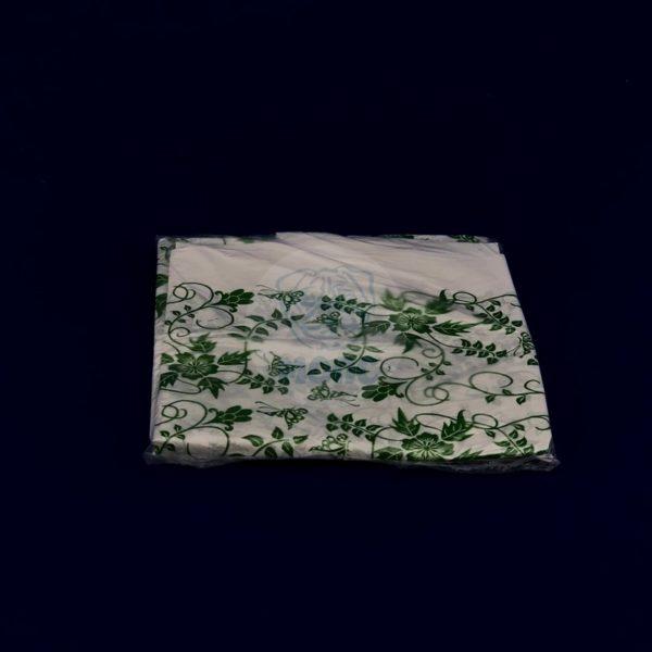 Скатерть одноразовая ПВД «Вьюнок» 110*140см 1/250