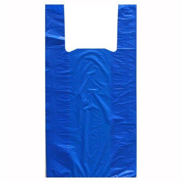 Пакет- майка ПНД 40*60см 25мкм синий 50/500