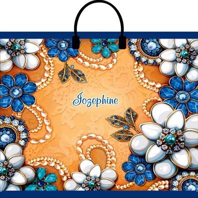 Пакет с пластиковой петлевой ручкой «Жозефина» 30*34 50/700