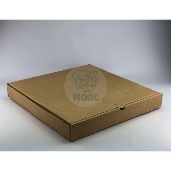 Коробка под пиццу 40см бурая 395*395*50мм 1/50