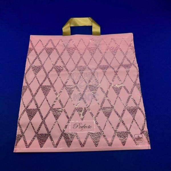 Пакет с петлевой ручкой «Перфекто Миндаль» 37*40см 25/300