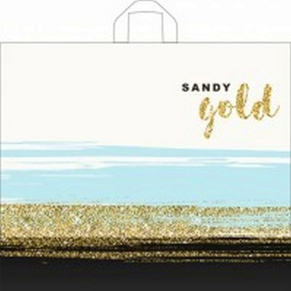 Пакет с петлевой ручкой «Золотой песок» 50*60см 25/250