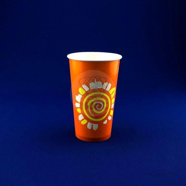 Стаканчик бумажный 400мл RPE 400 для холодных напитков 50/1000