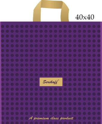 Пакет с петлевой ручкой «Премиум» 40*40см 25/400