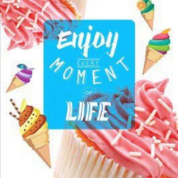 Пакет с петлевой ручкой «Сладкая жизнь» 38*42см 50/500