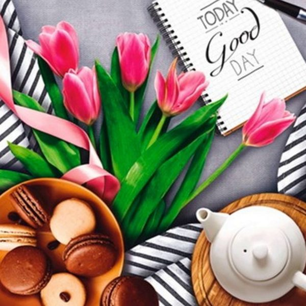 Пакет с петлевой ручкой «Завтрак» 38*42см 25/500