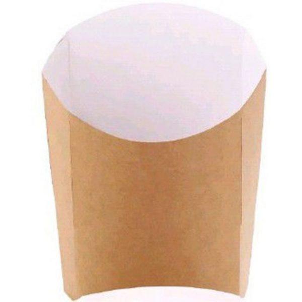 Пакет бумажный для картофеля фри 110гр 35/490