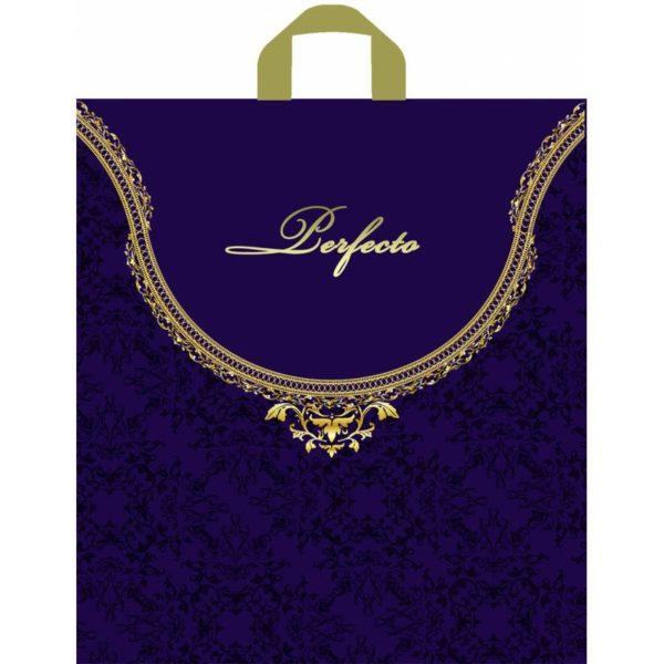 Пакет с петлевой ручкой «Перфекто Фиолет» 37*40см 25/300