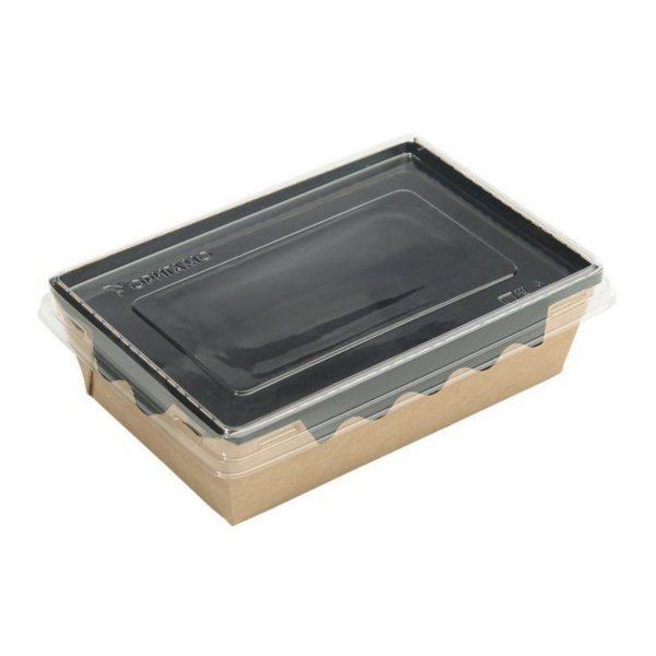 Упаковка для готовых блюд ECO ОрSalad 400мл 145*95*45мм 50/400
