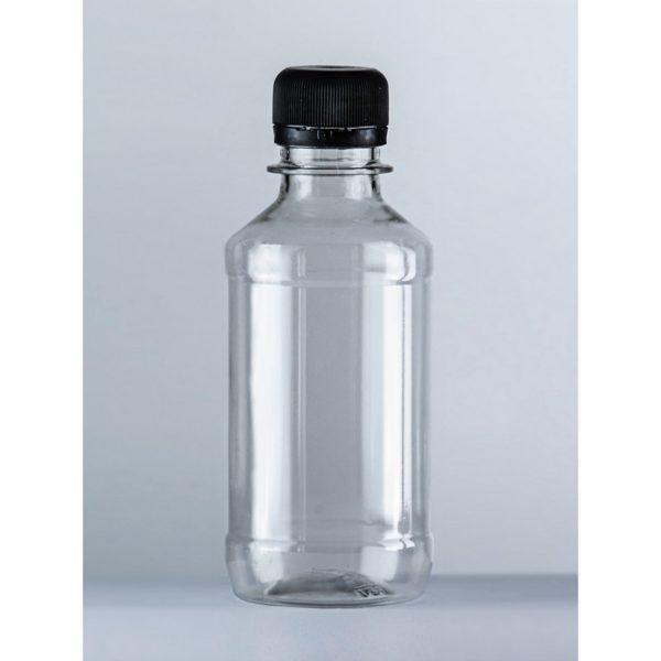 Бутылка пластиковая ПЭТ 0,25л прозрачная 1/150