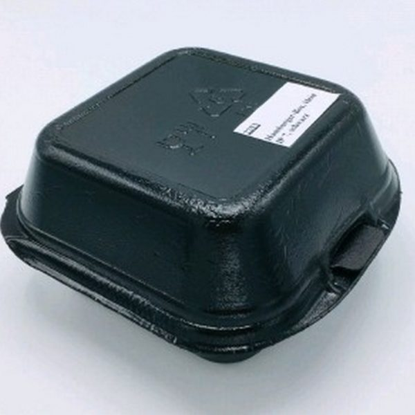 Гамбургербокс ВПС 150*160*80мм черный 125/500