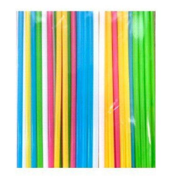 Трубочка для коктейля цветная MILK диаметр 8мм (125шт) 1/46