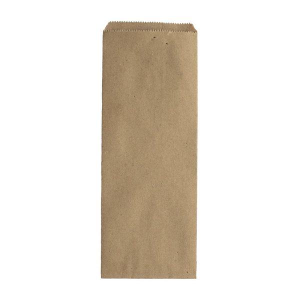 Пакет бумажный под столовые приборы (220*80мм) крафт 100/2000