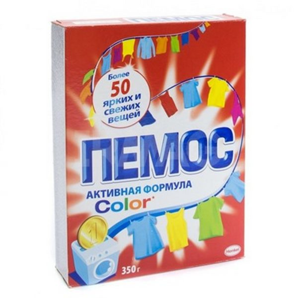 Стиральный порошок «Пемос» автомат Колор 0,35кг 1/22