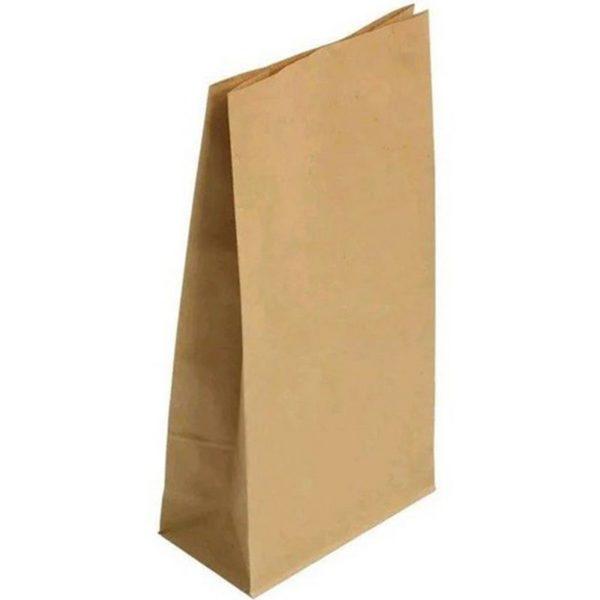 Пакет бумажный 305*140*95мм Крафт 50/400