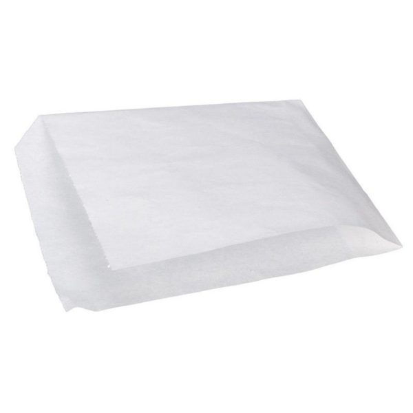 Уголок бумажный для фаст фуда белый 140*160мм 100/2500