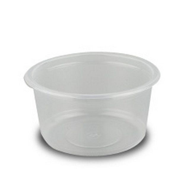 Контейнер суповой прозрачный 0,37л 50/300