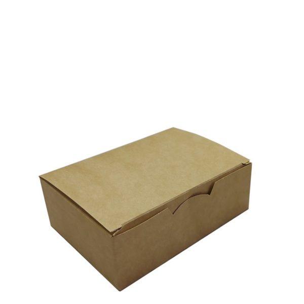 Коробка картонная под наггетсы 115*75*45мм крафт 1/500