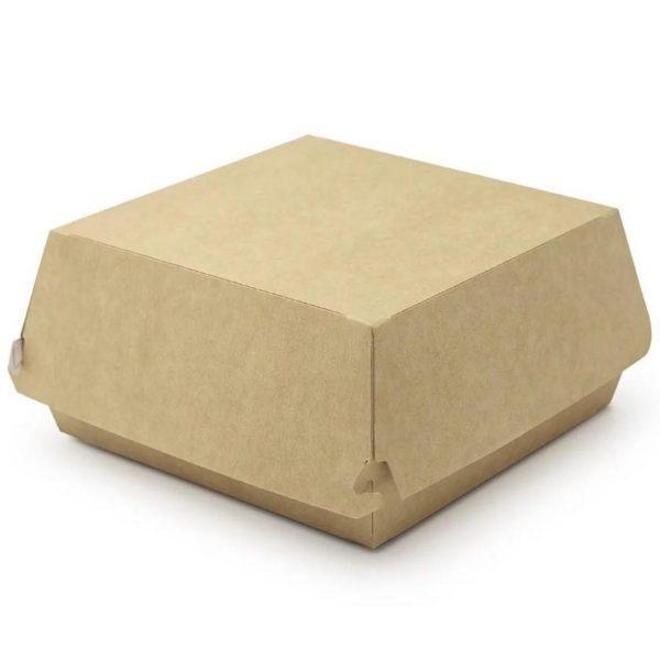 Коробка картонная для гамбургера 120*120*70 50/300